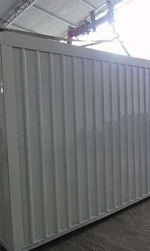 Como alugar um container