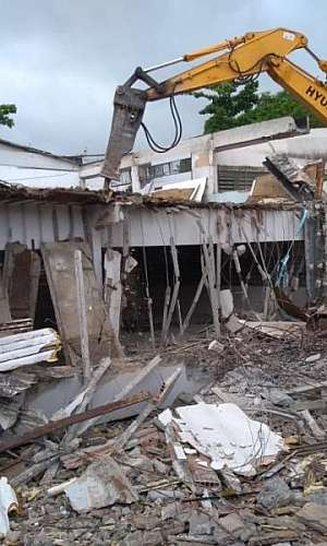 Demolidora em São Paulo